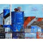 Tableau de Chenel : Les aciéries de Ploërmel
