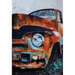 tableau de chenel, la vieille voiture cubaine - 120 x 80