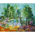 Tableau de Chenel - l'étang