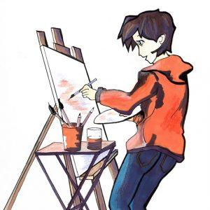 cours ados dessin peinture